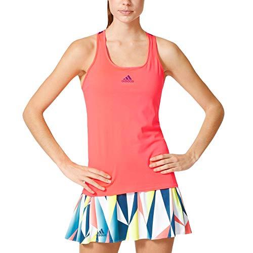 adidas Performance Womens Pro Tennis Tank Top - Red - M ()