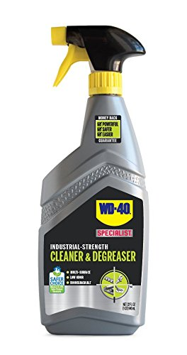 WD-40 Specialist Industrial-Strength Cleaner & Degreaser, 32 OZ [Non-Aerosol Trigger] (Industrial Strength Degreaser)