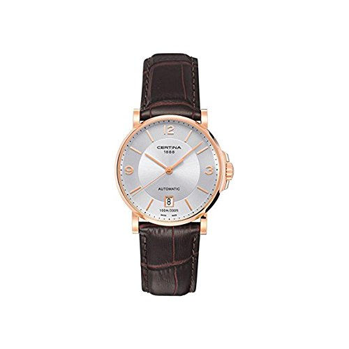 Certina DS Caimano Automatic Silver Dial Ladies Watch C0174073603700