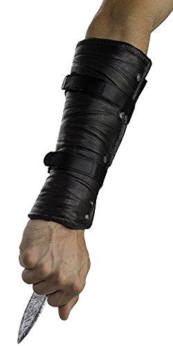 Palamon Men's Assassin's Creed Edward Hidden Blade and Cutlass Costume, Grey, One ()