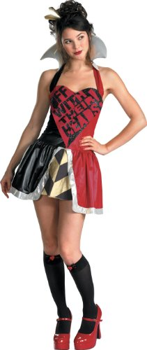 Queen of Hearts Teen Costume Size Junior (7-9)
