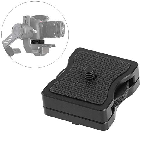 AFVO Camera Height Riser Applied to Quick Release Plate/Baseplate for DJI Ronin-S/Ronin-M/Zhiyun Crane Series