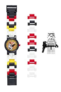 0015ee2a5133 Reloj modificable infantil de la tropa de asalto de LEGO Star Wars 8020325  con pulsera por