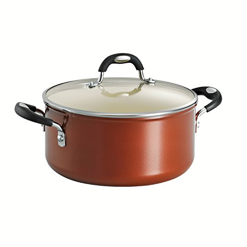 Tramontina 80110/050DS Style Ceramica 01 Covered Dutch Oven, 5-Quart, Metallic Copper