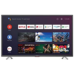 "Sharp Aquos 65BN6E 65"" Dolby ATMOS Android 9.0 Smart TV 4K Ultra HD, Wi-Fi, DVB-T2/S2, 3840 x 2160 Pixels, Nero, suono Harman Kardon, 3xHDMI 3xUSB, 2020 [Classe di efficienza energetica A] 19"