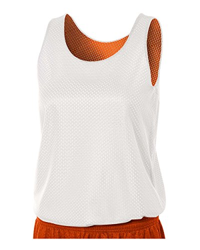 A4 Sportswear Orange/White Ladies Medium Women's Reversible