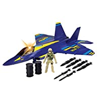 Richmond Toys New Battle Zone F-22 Raptor Fighter Jet Play Set