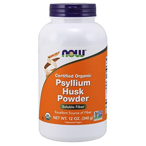 - NOW Supplements, Organic Psyllium Husk Powder, 12-Ounce