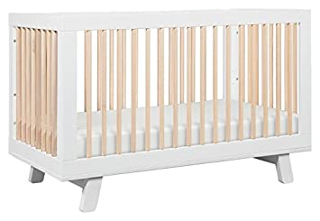 Babyletto Hudson 3 In 1 Convertible Crib With Toddler Bed Conversion Kit White