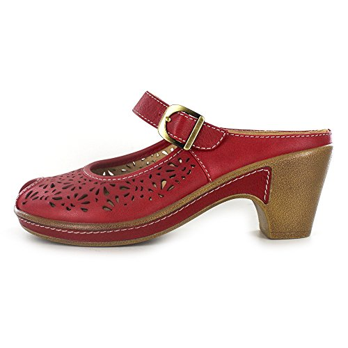 Gilding Country Women's Mule Mountain Red White xwYvq8Cw