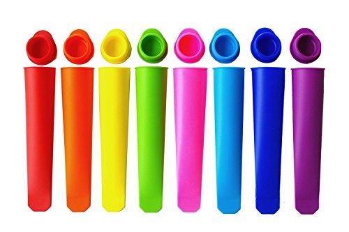 Kobofun Popsicle Moldes Ice Pop Maker sin BPA moldes set 8Remoción Venta