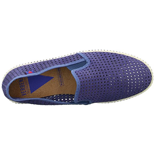 VERBENAS Herren Halbschuhe/Slipper Größe 40 Blau (Blau)