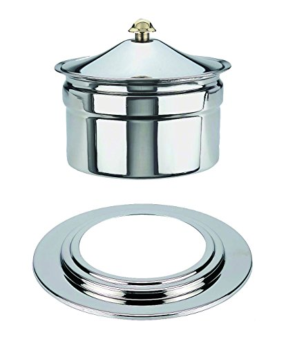 Mepra 207201A Palace Soup Tureen for Art.7201, Stainless Steel