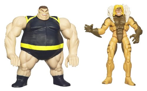 Wolverine Deluxe Action Figures - SABERTOOTH with BLOB LAUNCHER