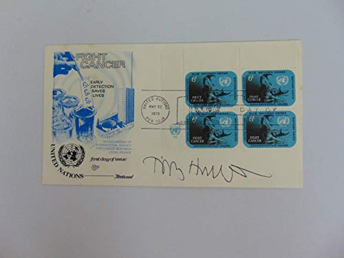 "RARE!""Nobel Prize in Medicine"" Sir R Timothy Hunt Hand Signed FDC Todd Mueller from Unknown"