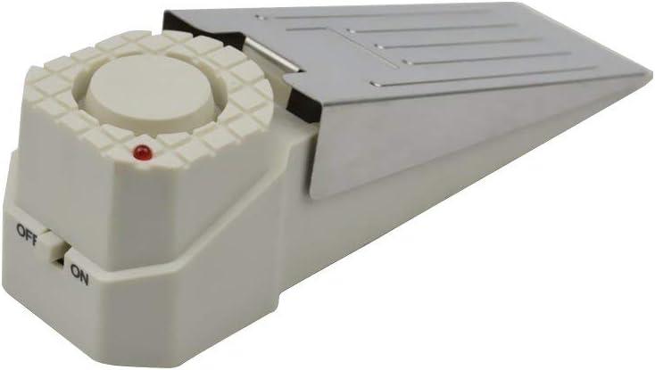 1set DoorStopper Alarm Security Alarms Sirens Device Door Stopper Hardware Door Stop Alarm for Home Office Travel
