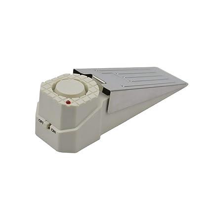 1set DoorStopper Alarm, Security Alarms Sirens Device Door Stopper Hardware Door Stop Alarm for Home Office Travel