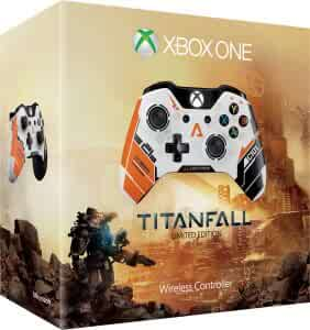 Amazon com: Xbox One Wireless Controller - Titanfall Limited Edition