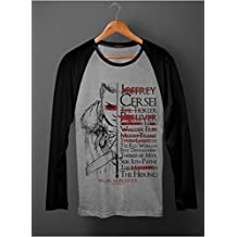 Camiseta Game Of Thrones Arya's List Raglan