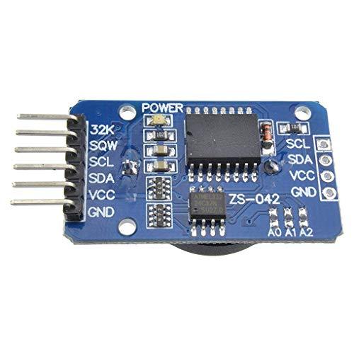 Minzhi 2Pcs/Set High Precision RTC DS1302 Module Clock Timer Memory Board Beats for Arduino Module Board