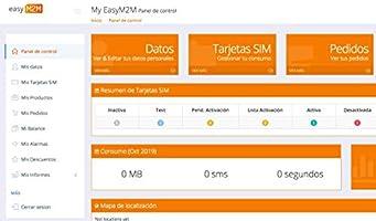 Easy M2M Tarjeta SIM prepago para Dispositivos IoT/M2M (smartwatch ...