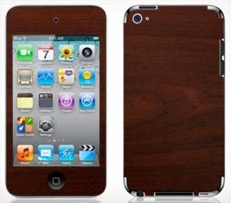 - Maple Wood Grain Pattern Skin for Apple iPod Touch 4G 4th Generation