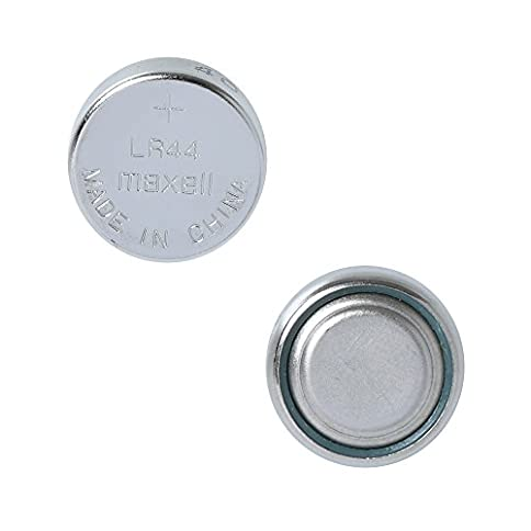 - 41Ps6jhdFOL - 3 Pack MAXELL AG13 LR44 A76 357 Alkaline Button Cell battery