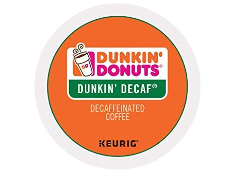 (Dunkin Donuts Dunkin Decaf single serve K-Cup pods for Keurig brewers, 96 Count              )