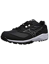 Mizuno Mens Dominant All Surface Low Turf Shoe Baseball Shoe