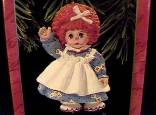 Hallmark Keepsake Ornament Madame Alexander Mop Top Wendy 1998