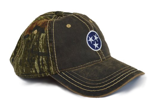 Tennessee State Flag Camo Baseball Hat | Camouflage Tennesseean Golf Cap