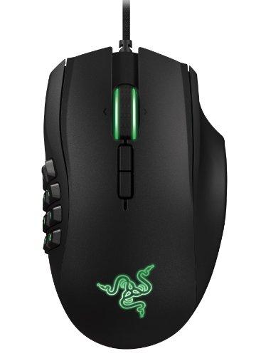 Razer Naga 2014 Ergonomic MMO Gaming Mouse - Black