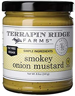 product image for Smokey Onion Gourmet Mustard by Terrapin Ridge Farms – One 8.5 oz Jar