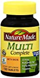Nature Made Multi Complete Tablets 130 ea (Pack of 4) Review