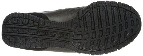 SkechersBikers Systematic - zapatillas bajas mujer Black Suede
