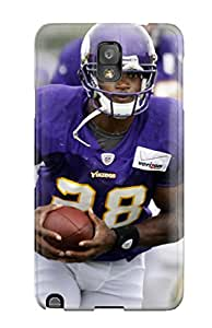 For IeVYvzF9478WkJqo Adrian Peterson Football Protective Case Cover Skin/galaxy Note 3 Case Cover