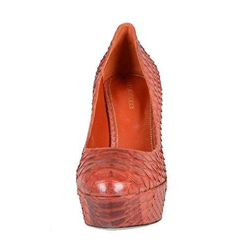 High Heel Skin Rossi Python Brown Pumps Sergio Platform Shoes wp6tqvwR