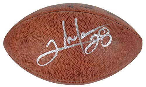 Redskins Clinton Portis Authentic Autographed Signed Memorabilia Official NFL Football JSA #G08326