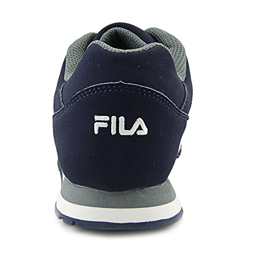 Fila Womens Cress Walking Shoe Fila Navy, Monumen, Bianco