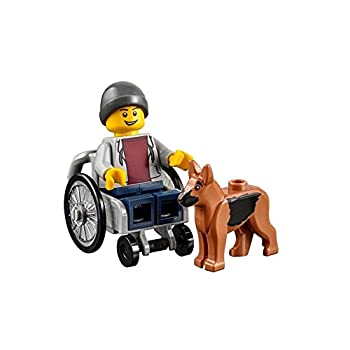 Amazon.com: LEGO Town City Fun in the Park Minifigure - Disabled ...
