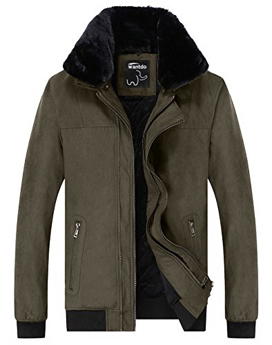 Wantdo-Mens-Thick-Fleece-Cotton-Padded-Coat