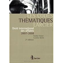 Codes thematiques larcier  2/e