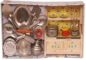 Buy Homeshopeez Kids Kitchen Set M Color May Vary Online At Low