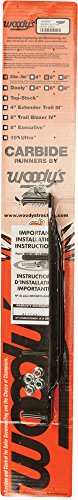 Woodys Slim Jim Dooly Performance Carbide Wear Rods - 6in. Sa6-9975 Carbide Wear Rods