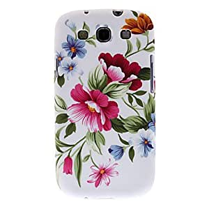 JOE Showy Flowers Pattern Hard Case for Samsung Galaxy S3 I9300