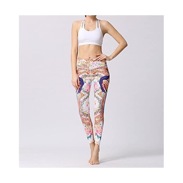 DACHUI Women's Training Leggings Mitte Taille Stretch Yoga