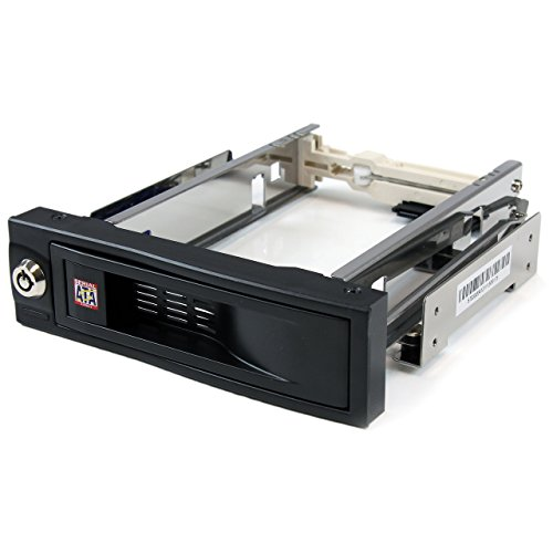 - StarTech.com 5.25in Trayless Hot Swap Mobile Rack for 3.5in Hard Drive - Internal SATA Backplane Enclosure