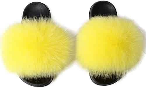 1552f686bf55b Shopping Slip-On - Yellow - Slippers - Shoes - Women - Clothing ...
