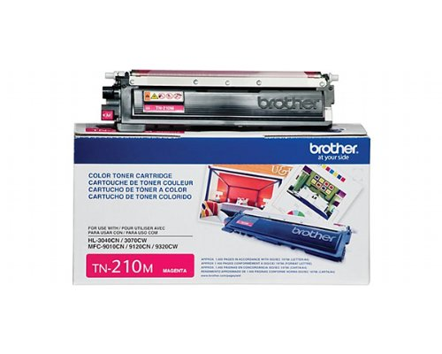 Brother MFC-9325CW Magenta Toner Cartridge. Manufactured by Brother