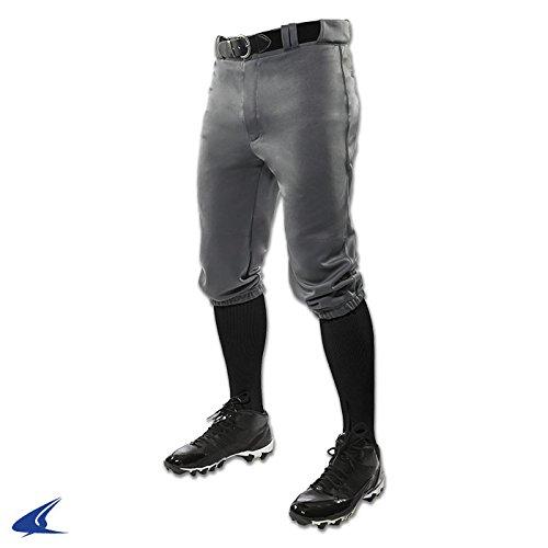 Champro Youth Triple Crown Knicker Baseball Pant - Graphite - (Professional Baseball Pants)